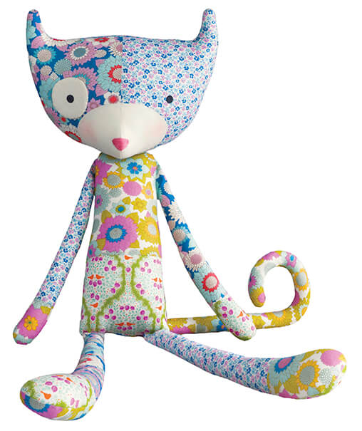 Tilda Lemontree Patch The Cat Softie Kit
