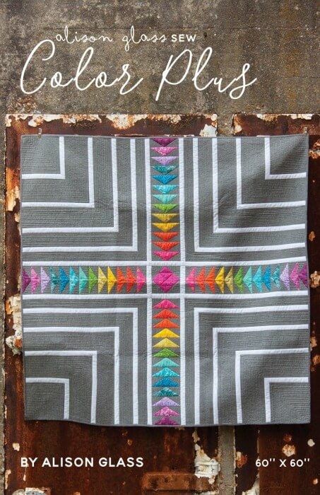 Alison Glass Color Plus Quilt Pattern