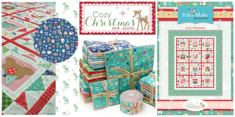 Riley Blake Designs Cozy Christmas By Lori Holt
