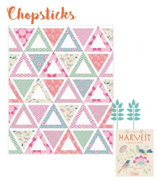 Jaybird Quilts Chopsticks Quilt Pattern