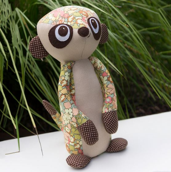 Melly And Me Mischief The Meerkat Softie Pattern