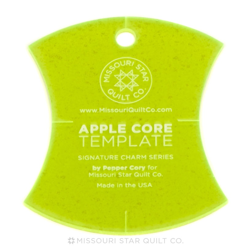 Missouri Star Quilt Co Small Applecore Template