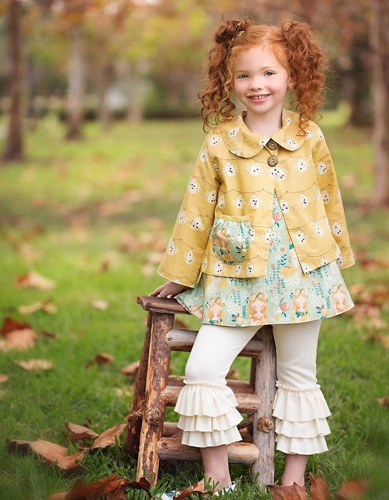 Violette Field Threads Reversible Jacket Pattern