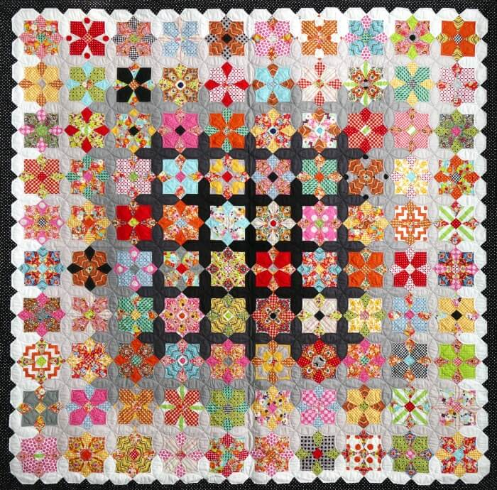 Quatro Colour Quilt Pattern Papers And Templates By Sue