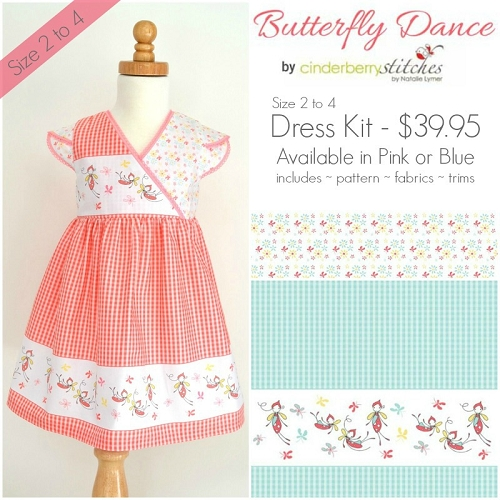 Butterfly Dance Dress Kit