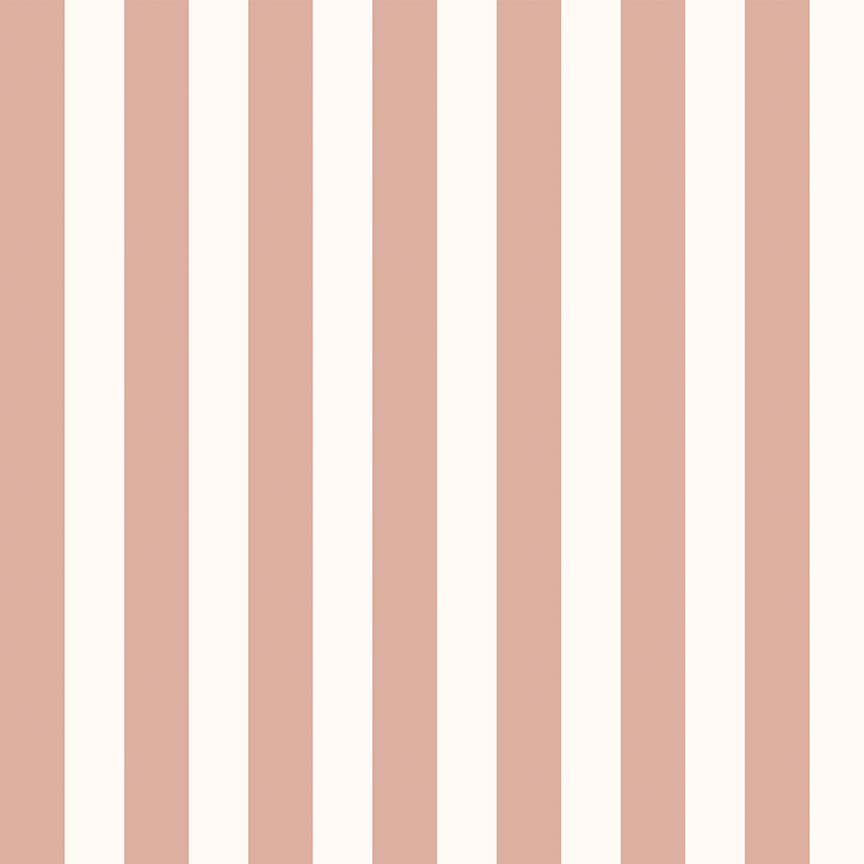 Riley Blake Designs Yes Please Stripes Cream With Rose