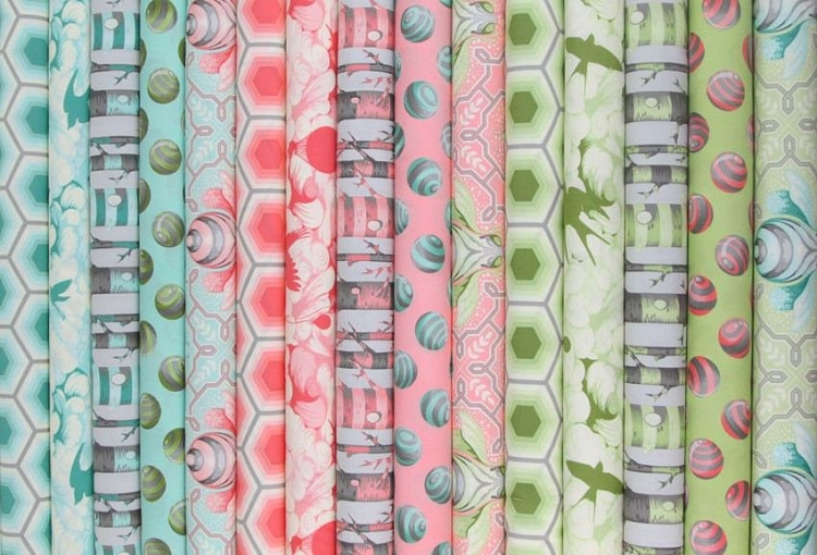 Bumble Fabric by Tula Pink