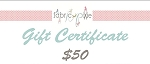 Gift Certificate - $50