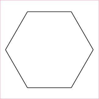 English paper piecing hexagon patterns