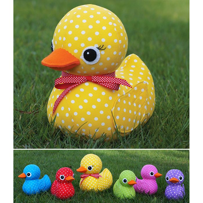 Melly And Me Five Little Ducks Softie Pattern