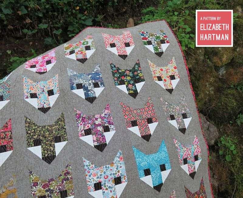 elizabeth hartman oh fransson fancy fox quilt pattern