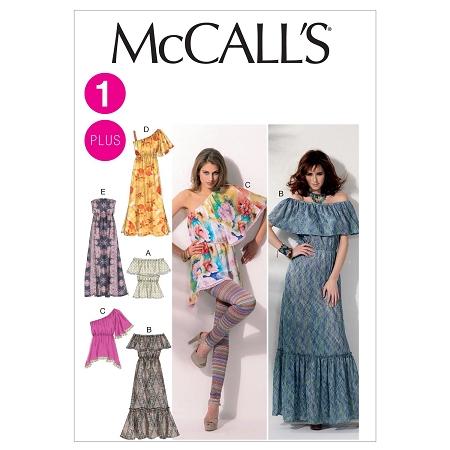 McCall\'s - M6558 Maxi Dress Pattern Sizes 8 to 16