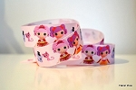 Printed Grosgrain Ribbon - La La Loopsy Pets - 22mm