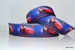 Printed Grosgrain Ribbon - Cars - 22mm