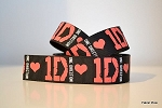 Printed Grosgrain Ribbon - One Direction - 22mm