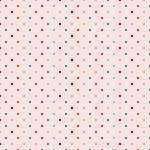 Riley Blake Designs - Unicorns and Rainbows Dot Spot in Pink