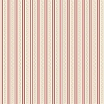 Riley Blake Designs - Raspberry Parlour by Sue Daley - Stripe in Pink