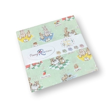 Penny Rose Fabrics - Bunnies and Cream 10 Inch Stacker 42 Pieces