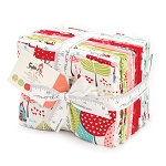 Moda - Lil Red - Fat Quarter Bundle of 20 Fabrics