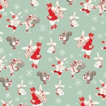 Studio E - Joy, Love, Peace by Lucie Crovatto - Mint Bunnies