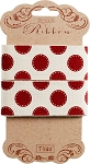 Tilda - Sweetheart Ribbon Sewn Spot in Red