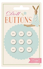 Tilda - Circus - Doll Buttons Set of 9