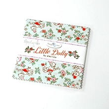 Penny Rose Fabrics - Little Dolly 5 Inch Stacker 18 Pieces