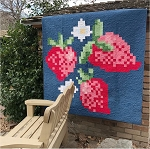 Amanda Herring Designs - 8 Bit Berries Quilt Kit