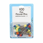 Collins - Flower Pin Bonus Pack Size 32 pack of 100