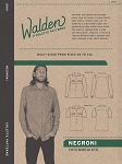 Walden by Colette Patterns - Negroni Mens Shirt Pattern