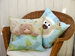 Claire Turpin Design - Bear Buddie - Pocket Cushion Pattern