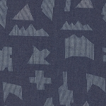 Art Gallery Fabrics - The Denim Studio - Puzzle Sandblast
