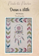 Petals and Patches - Dream A Little Wall Hanging Pattern