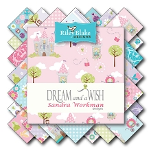 Riley Blake Designs - Dream and a Wish - Half Metre Bundle of 18 Pieces