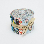 Riley Blake Designs - Dutch Treat - 2.5 Inch Rolie Polie of 18 fabrics