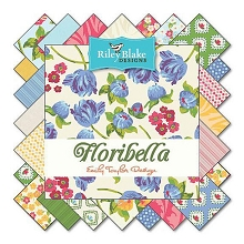 Riley Blake Designs - Floribella - Half Metre Bundle of 18 Pieces