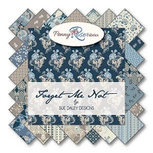 Penny Rose Fabrics - Forget Me Not - Half Metre Bundle of 21 Pieces