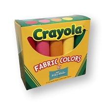 Riley Blake Designs - Crayola Fat Quarter Solid Box of 10 pieces