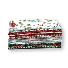 Penny Rose Fabrics - Anne of Green Gables Christmas - Half Metre Bundle of 18 Pieces