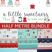 Riley Blake Designs - A Little Sweetness - Half Metre Bundle of 21 Pieces