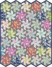 Jaybird Quilts - Tiny Dancer in Tilda Sunkiss Lap Quilt Kit
