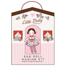 Rag Doll Making Fabric Kit by Elea Lutz