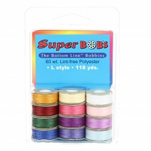Superior Threads BottomLine Thread L Style Jewel and Pastel Pack of 12