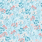 Dashwood Studio - Millefleur - Floral in Light Blue