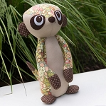 Melly and Me - Mischief the Meerkat Softie Pattern