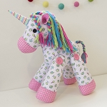 Melly and Me - Unity the Unicorn Softie Pattern