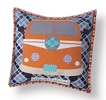 Sugar Sisters Design - Keep On Groovin Pillow Pattern