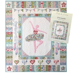 Tilda - Circus - Pirouette Quilt Kit by Petals and Patches
