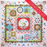 Riley Blake Designs - Patchwork Puzzle Quilt Complete Kit