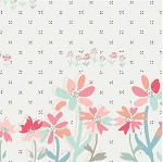 Art Gallery Fabrics - Paperie - Gathering Blooms Single Border